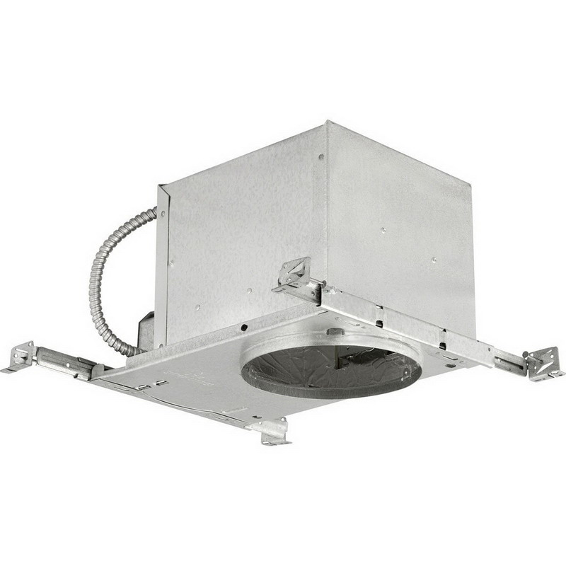 Progress Lighting P645 TG 1 Light 6 Inch Recessed Slope Housing Aluminum In