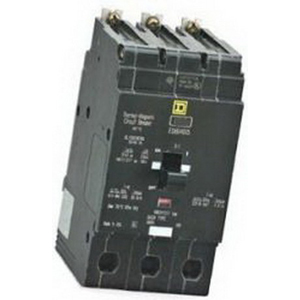 Schneider Electric / Square D EJB34045 Lighting Panelboard Miniature Circuit Breaker; 45 Amp, 480Y/277 Volt AC, 3-Pole, Bolt-On Mount