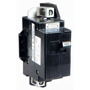 Schneider Electric / Square D  QOM100VH Main Circuit Breaker; 100 Amp, 120/240 Volt AC, 2-Pole, Bolt-On Mount