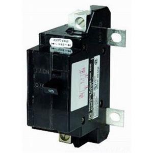 Schneider Electric / Square D  QOM125VH Main Circuit Breaker; 125 Amp, 120/240 Volt AC, 2-Pole, Bolt-On Mount