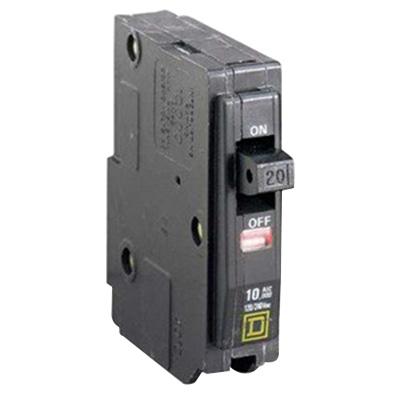 Schneider Electric / Square D  QO120 QO™ Miniature Circuit Breaker; 20 Amp, 120/240 Volt AC, 1-Pole, Plug-On Mount