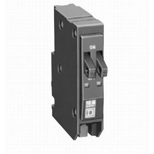Schneider Electric / Square D  QO2020 QO™ Replacement Tandem Dual Miniature Circuit Breaker; 20/20 Amp, 120/240 Volt AC, 1-Pole, Plug-On Mount