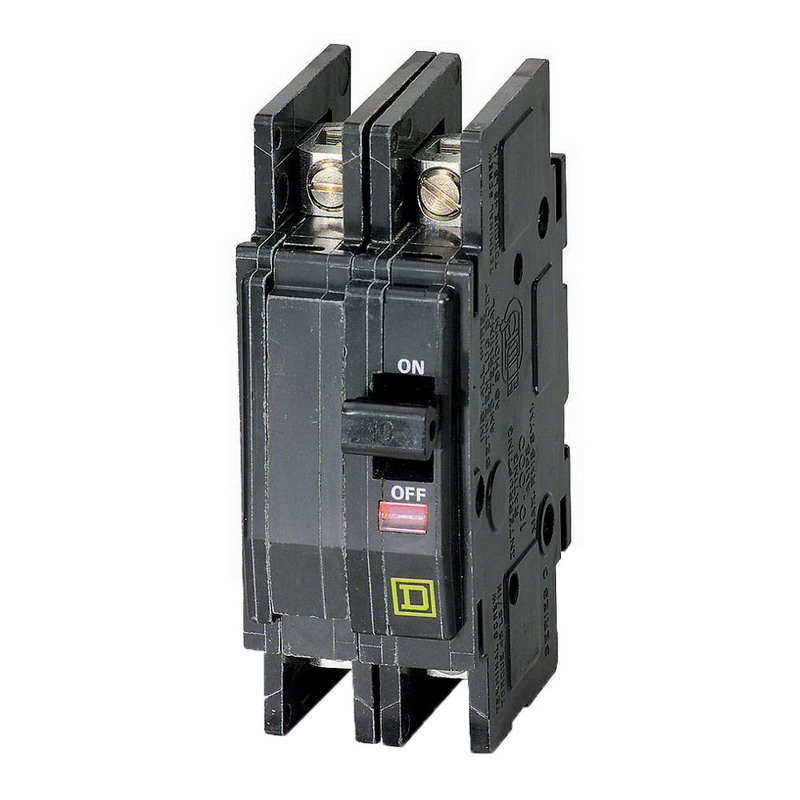 Schneider Electric / Square D QOU270 Miniature Circuit Breaker; 70 Amp, 120/240 Volt AC, 2-Pole, Unit Mount