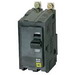 Schneider Electric / Square D  QOB2100 Miniature Circuit Breaker with Visi-Trip® Indicator; 100 Amp, 120/240 Volt AC, 48 Volt DC, 2-Pole, Bolt-On Mount