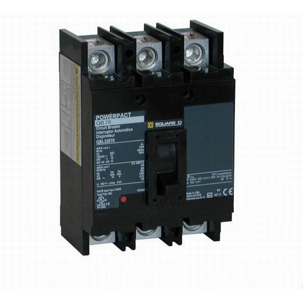 Schneider Electric / Square D QGP32200TM PowerPact® Molded Case Circuit Breaker; 200 Amp, 240 Volt AC, 3-Pole, Unit Mount
