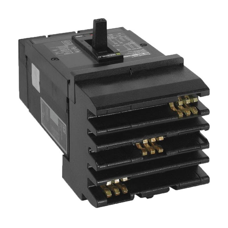 Schneider Electric / Square D JGA36225 I-Line® Powerpact® Molded Case Circuit Breaker; 225 Amp, 600 Volt AC, 250 Volt DC, 3-Pole, Plug-On Mount
