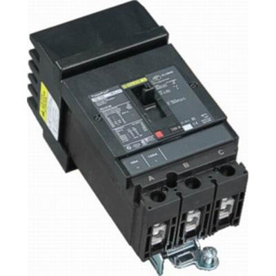 Schneider Electric / Square D HGA36090 PowerPact® Molded Case Circuit Breaker; 90 Amp, 600 Volt AC, 250 Volt DC, 3-Pole, Plug-On Mount