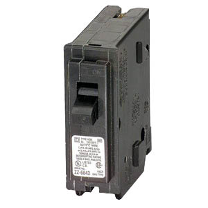 Schneider Electric / Square D HOM140 Homeline™ Miniature Circuit Breaker; 40 Amp, 120/240 Volt AC, 1-Pole, Plug-On Mount