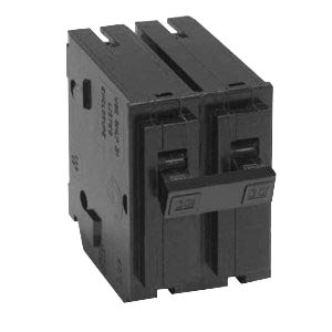 Schneider Electric / Square D  HOM280 Homeline™ Miniature Circuit Breaker; 80 Amp, 120/240 Volt AC, 2-Pole, Plug-On Mount