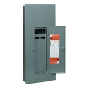 Schneider Electric / Square D  HOM12M100C Homeline™ Convertible Main Breaker Load Center; 100 Amp, 120/240 Volt AC, 1 Phase, 12 Space, 12 Circuit, 3-Wire, Flush/Surface