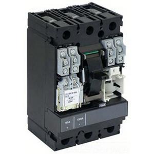 Schneider Electric / Square D HJA36100 PowerPact® Molded Case Circuit Breaker; 100 Amp, 600 Volt AC, 250 Volt DC, 3-Pole, Plug-On Mount