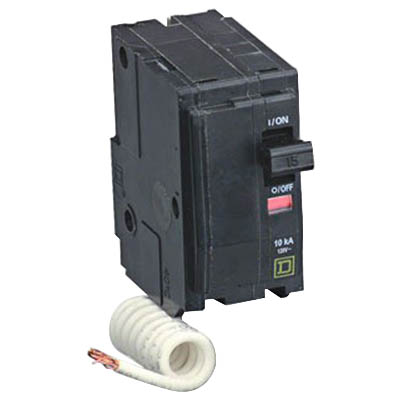 Schneider Electric / Square D QO2110 QO™ Miniature Circuit Breaker; 110 Amp, 120/240 Volt AC, 2-Pole, Plug-On Mount