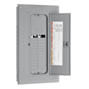 Schneider electric square d hom2024l125tc homeline for Wire size for 125 amp service