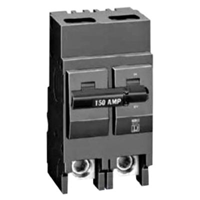Schneider Electric / Square D  QOB220VH Miniature Circuit Breaker with Visi-Trip® Indicator; 20 Amp, 120/240 Volt AC, 2-Pole, Bolt-On Mount