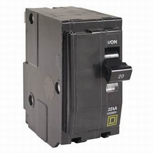 Schneider Electric / Square D QO270VH QO™ Miniature Circuit Breaker; 70 Amp, 120/240 Volt AC, 2-Pole, Plug-On Mount