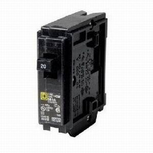 Schneider Electric / Square D HOM125 Homeline™ Miniature Circuit Breaker; 25 Amp, 120/240 Volt AC, 1-Pole, Plug-On Mount