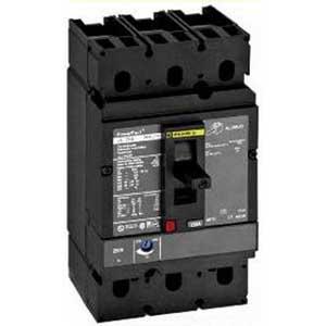 Schneider Electric / Square D JDF36225 PowerPact® Molded Case Circuit Breaker; 225 Amp, 600 Volt AC, 250 Volt DC, 3-Pole