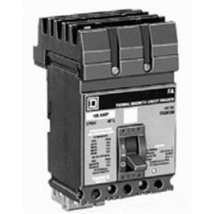 Schneider Electric / Square D FH36040 I-Line® Molded Case Circuit Breaker; 40 Amp, 600 Volt AC, 250 Volt DC, 3-Pole, Plug-On Mount