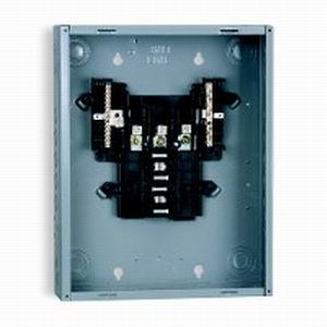 Schneider Electric / Square D  QO312L125G Fixed Main Lug Load Center; 125 Amp, 208Y/120 Volt AC, 240/120 Volt AC Delta, 240 Volt AC Delta, 3 Phase, 12 Space, 12 Circuit, 3-Wire/4-Wire