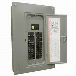 Schneider Electric / Square D QO318L200GRB Fixed Main Lug Load Center; 200 Amp, 208Y/120 Volt AC, 240/120 Volt AC Delta, 240 Volt AC Delta, 3 Phase, 18 Space, 18 Circuit, 3-Wire/4-Wire, Surface