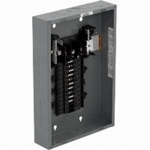 Schneider Electric / Square D QO320L125G Fixed Main Lug Load Center; 125 Amp, 208Y/120 Volt AC, 240/120 Volt C Delta, 240 Volt Delta, 3 Phase, 20 Space, 20 Circuit, 3-Wire/4-Wire