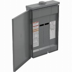 Schneider Electric / Square D QO320L125GRB Fixed Main Lug Load Center; 125 Amp, 208Y/120 Volt AC, 240/120 Volt C Delta, 240 Volt Delta, 3 Phase, 20 Space, 20 Circuit, 3-Wire/4-Wire, Surface