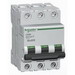 Schneider Electric / Square D MG24459 Multi 9™ Supplementary Protector; 1 Amp, 480Y/277 Volt AC, 3-Pole, DIN Rail Mount