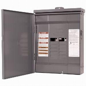 Schneider Electric / Square D HOM816L125RB Homeline™ Convertible Main Lug Load Center; 125 Amp, 120/240 Volt AC, 1 Phase, 8 Space, 16 Circuit, 3-Wire, Surface