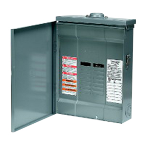 Schneider Electric / Square D QO112L125GRB Convertible Main Lug Load Center; 125 Amp, 120/240 Volt AC, 1 Phase, 12 Space, 12 Circuit, 3-Wire, Surface