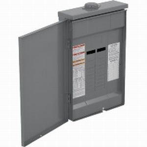 Schneider Electric / Square D QO124L125GRB Convertible Main Lug Load Center; 125 Amp, 120/240 Volt AC, 1 Phase, 24 Space, 24 Circuit, 3-Wire, Surface