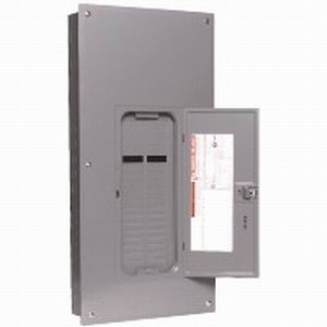 Schneider Electric / Square D QO13040L200G Convertible Main Lug Load Center; 200 Amp, 120/240 Volt AC, 1 Phase, 30 Space, 40 Circuit, 3-Wire
