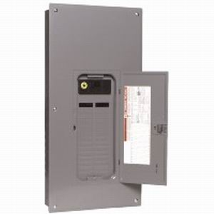 Schneider Electric/Square D QO13040M200 Convertible Main Breaker Load Center; 200 Amp, 120/240 Volt AC, 1 Phase, 30 Space, 40 Circuit, 3-Wire