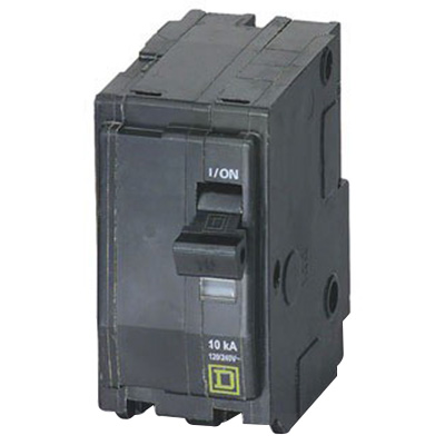 Schneider Electric / Square D QO280VH QO™ Miniature Circuit Breaker; 80 Amp, 120/240 Volt AC, 2-Pole, Plug-On Mount
