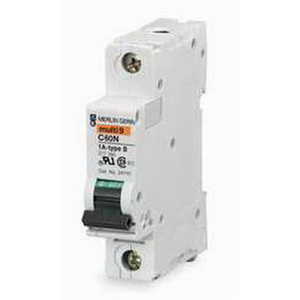 Schneider Electric / Square D MG24507 Multi 9™ Supplementary Protector; 13 Amp, 277 Volt AC, 65 Volt DC, 1-Pole, DIN Rail Mount