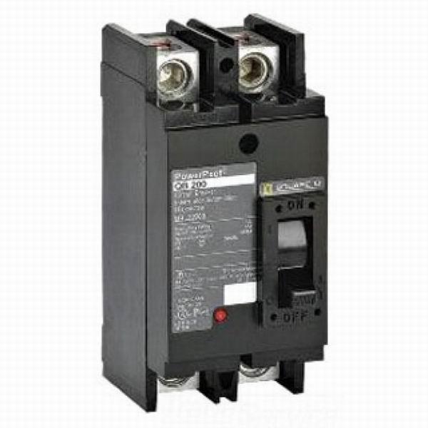 Schneider Electric / Square D QDL22225 PowerPact® Molded Case Circuit Breaker; 225 Amp, 240 Volt AC, 2-Pole, Unit Mount