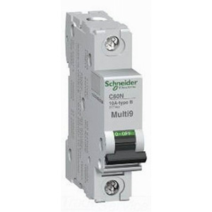 Schneider Electric / Square D MG17425 Multi 9™ Supplementary Protector; 7 Amp, 277 Volt, 1-Pole, DIN Rail Mount