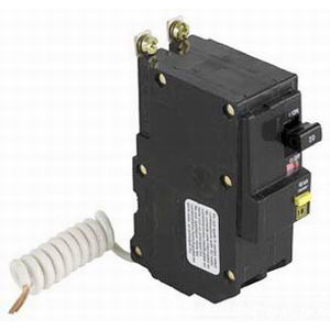 Schneider Electric / Square D QOB220GFI Ground Fault Miniature Circuit Breaker; 20 Amp, 120/240 Volt AC, 2-Pole, Bolt-On Mount