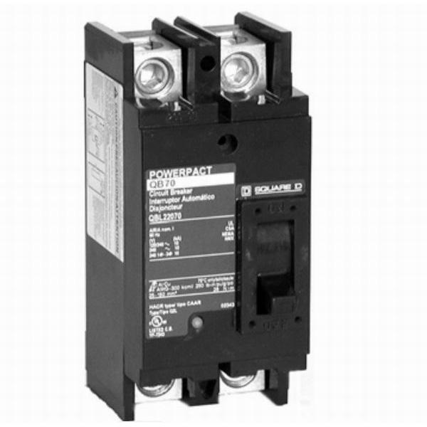 Schneider Electric / Square D QGP22200TM PowerPact® Molded Case Circuit Breaker; 200 Amp, 120/240 Volt AC, 2-Pole, Unit Mount