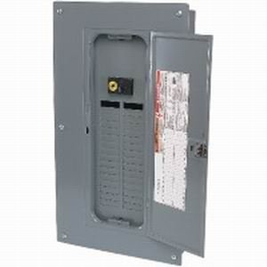 Schneider Electric / Square D  QO132M100 Convertible Main Breaker Load Center; 100 Amp, 120/240 Volt AC, 1 Phase, 32 Space, 32 Circuit, 3-Wire