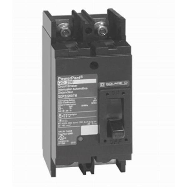 Schneider Electric / Square D QDP22100TM Tenant Circuit Breaker; 100 Amp, 120/240 Volt AC, 2-Pole, Bolt-On Mount