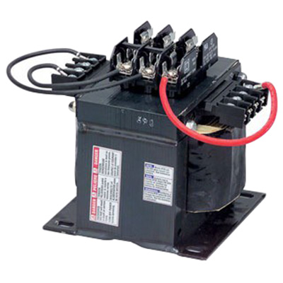 Schneider Electric / Square D 9070TF2000D1 Control Transformer 240 x 480  230 x 460  220 x 440 Volt Primary  120 x 115 x 110 Volt Secondary  2000 VA  Screw Clamp Terminal  1 Phase