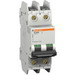 Schneider Electric / Square D 60140 Multi 9™ C60 Miniature Circuit Breaker; 5 Amp, 240 Volt AC, 125 Volt DC, 2-Pole, DIN Rail Mount