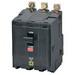 Schneider Electric / Square D  QOB360 Miniature Circuit Breaker with Visi-Trip® Indicator; 60 Amp, 240 Volt AC, 48 Volt DC, 3-Pole, Bolt-On Mount