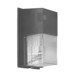 Hubbell Lighting NRG-350B NRG® 300B 1-Light Vandal Resistant Metal Halide Wall Pack; 50 Watt, Bronze, Lamp Included