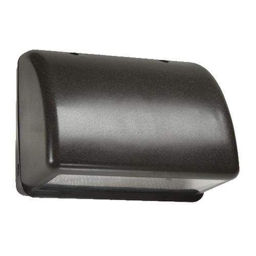Hubbell Lighting NRG-1111B NRG® 1100 1-Light Full Cut-Off Metal Halide Wall Pack; 100 Watt, Bronze, Lamp Included