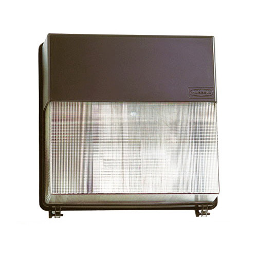 Hubbell Lighting PVL3-150P-18-BZ-L Perimaliter® 1-Light Metal Halide Wall Pack; 150 Watt, Dark Bronze, Lamp Included
