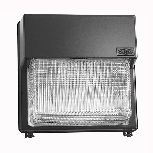 Hubbell Lighting PGM3-250P-18-BZ-L Perimaliter® 1-Light Metal Halide Wall Pack; 250 Watt, Dark Bronze, Lamp Included