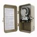 NSI 1102 Tork® 1100 Series Timer Switch; 24 Hour, Beige Enamel, SPST