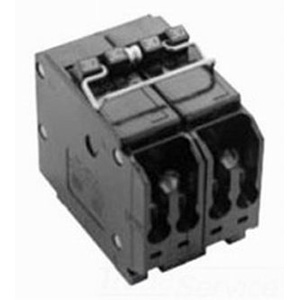 Eaton / Cutler Hammer BQ220250 Circuit Breaker; (1) Two Pole 20 Amp, (1) Two Pole 50 Amp, 120/240 Volt AC, 4-Pole, Plug-On Mount
