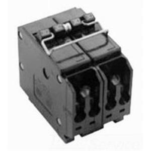 Eaton / Cutler Hammer BQ220215 Circuit Breaker; (1) Two Pole 20 Amp, (1) Two Pole 15 Amp, 120/240 Volt AC, 4-Pole, Plug-On Mount